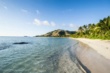 White Sandy Beach  Oarsman Bay  Yasawa  Fiji  South Pacific