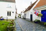 Old Stavanger (Gamle Stavanger) - About 250 Buildings Dating from Early 18th Century  Norway
