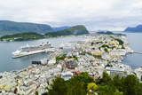 Alesund  Norway  Scandinavia  Europe