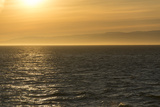Washington  Canada  British Columbia Strait of Juan De Fuca  Vancouver Island  Evening Light