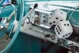 USA  Massachusetts  Cape Ann  Gloucester  Antique Car Show  1950's Fuzzy Dice