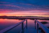 USA  Massachusetts  Cape Ann  Gloucester  Sunset on the Annisquam River