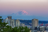 Wa  Seattle  Skyline View with Mount Rainier