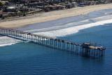 USA  California  San Diego Scripps Pier  La Jolla Shores