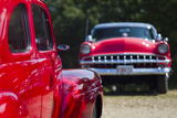 USA  Massachusetts  Cape Ann  Gloucester  Antique Car Show  1950's Ford