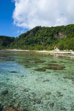 Pretty Bay and Turquoise Water in Tau Island  Manuas  American Samoa  South Pacific