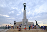 The Liberty Statue  a Monument on the Gellert Hill  Budapest  Hungary  Europe