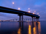 USA  California  San Diego  Coronado Bridge Curves over San Diego Bay