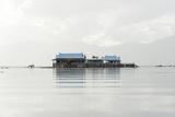 Old 20th Century British Lake Resort  Now Being Restored  Inle Lake  Shan State  Myanmar (Burma)