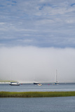 USA  Massachusetts  Cape Ann  Gloucester  Annisquam  Annisquam River and Fog