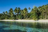 White Sand Beach  Nanuya Lailai Island  Blue Lagoon  Yasawa  Fiji  South Pacific