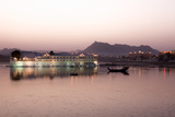 Perfect Reflection of Lake Palace Hotel at Dusk  India