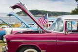 USA  Massachusetts  Cape Ann  Gloucester  Antique Car Show  Car Detail