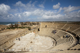 The Theater of Caesarea on the Shores of the Mediterranean Sea  Caesarea  Israel