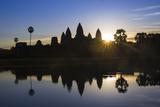 Sunrise  Angkor Wat Temple  Angkor  Siem Reap  Cambodia