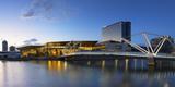 Seafarers Bridge and Convention Centre at Dawn  Melbourne  Victoria  Australia  Pacific