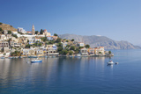 View across the Tranquil Waters of Harani Bay  Dodecanese Islands