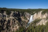Lower Falls  Yellowstone National Park  Wyoming  United States of America  North America
