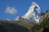 Matterhorn  4478M  Zermatt  Swiss Alps  Switzerland  Europe