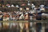 Lille Lungegard Lake  Bergen  Norway  Scandinavia  Europe