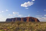 Uluru  Uluru-Kata Tjuta National Park  Northern Territory  Australia  Pacific