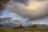 Ta Moulton Barn  Mormon Row  Grand Tetons National Park  Wyoming  United States of America
