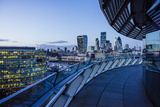 View from City Hall Rooftop over City of London Skyline  London  England  United Kingdom  Europe