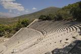 Ancient Theatre of Epidaurus (Epidavros)  Argolis  Peloponnese  Greece  Europe