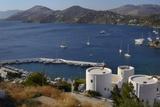 Old Windmills  Greek Islands