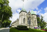 Stavanger Cathedral  Norway's Oldest Cathedral Dating from 1125  Stavanger  Norway  Scandinavia