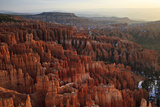 USA  Utah  Bryce Canyon National Park  Sunrise at Inspiration Point  Digital Composite  Hdr
