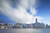 View of Hong Kong Island Skyline  Hong Kong  China  Asia