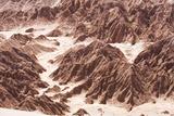 Rock Formations in Death Valley (Valle De La Muerte)  Atacama Desert  North Chile