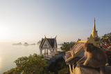 Wat Thammikaram Worawihan Temple  Khao Chong Krajok  Prachuap Kiri Khan  Thailand  Southeast Asia