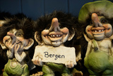 Trolls  Bergen  Hordaland  Norway  Scandinavia  Europe