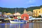 Gaios Harbour  Paxos  the Ionian Islands  Greek Islands  Greece  Europe