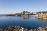 View across the Tranquil Waters of Lindos Bay  South Aegean
