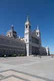 Catedral De La Almudena in Madrid  Spain  Europe