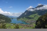 Lungern  Lungern See  Switzerland  Europe
