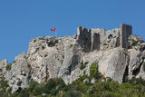 Castle Ruin in the Rocks of the Hill Village of Les Baux-De-Provence  Provence  France  Europe
