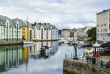 Alesund  Noted for its Art Nouveau Achitecture  Norway  Scandinavia  Europe