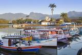 Paraty Port  Rio De Janeiro State  Brazil  South America