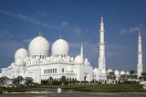 Sheikh Zayed Grand Mosque  Abu Dhabi  United Arab Emirates  Middle East