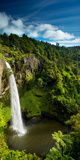 Bridal Veil Falls (Waireinga) Near Raglan  Waikato  North Island  New Zealand  Pacific