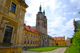 Tepla Abbey Is a Premonstratensian Monastery in the Western Part of Bohemia  Czech Republic  Europe
