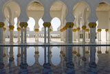 The Sheikh Zayed Grand Mosque  Abu Dhabi  United Arab Emirates  Middle East