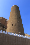 Tower of Al-Mirani Fort  Old Muscat  Oman  Middle East