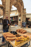 Bread Seller with Cart  Old City
