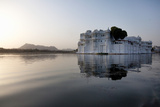 Perfect Reflection of Lake Palace Hotel  India