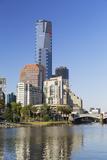 Eureka Tower and Yarra River  Melbourne  Victoria  Australia  Pacific